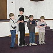Children Sing Praise Poster