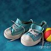 Children Sneakers Poster by Carlos Caetano