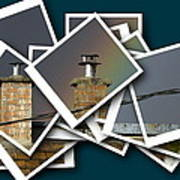 Chimney On A Roof  Poster