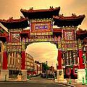 China Town Liverpool Poster