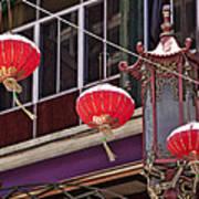 China Town San Francisco Poster by Kelley King