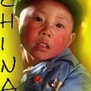 Chinese Boy Poster