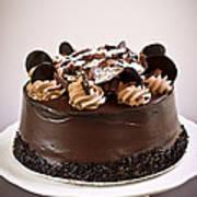 Chocolate Cake Poster by Elena Elisseeva