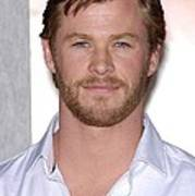 Chris Hemsworth At Arrivals For The Poster by Everett