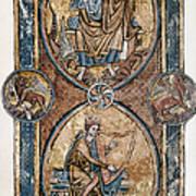 Christ And David Poster