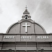 Christ Church In Melaka In Malaysia Poster