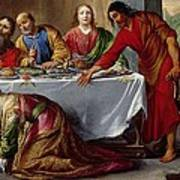 Christ In The House Of Simon The Pharisee Poster