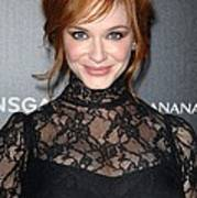 Christina Hendricks Wearing A Dolce & Poster