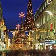 Christmas In Dublin, Henry Street At Poster