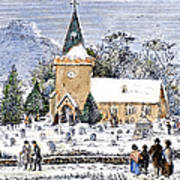 Christmas Morning, 1837 Poster