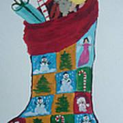 Christmas Sock Poster