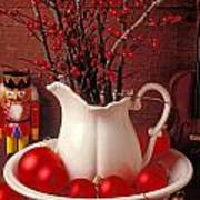 Christmas Still Life Poster by Garry Gay