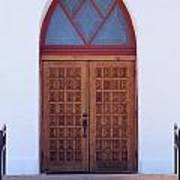 Christ's Red Door Poster