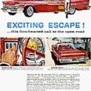 Chrysler Ad, 1959 Poster