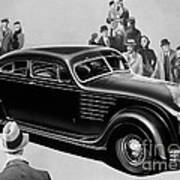 Chrysler Airflow Poster by Photo Researchers