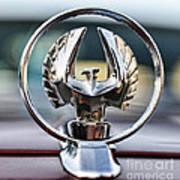 Chrysler Imperial Hood Ornament Poster