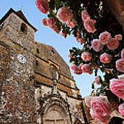 Church And Roses Poster
