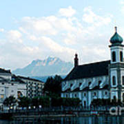 Church In Lucerne Poster