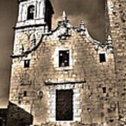 Church Of The Virgen De La Ermitana - Peniscola  Poster