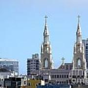 Church Top San Francisco Poster