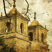 Church Towers Poster
