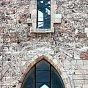 Church Windows Poster by Shirley Mitchell