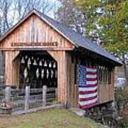 Cilleyville Covered Bridge Poster