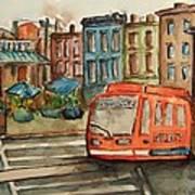 Cincinnati Streetcar Poster