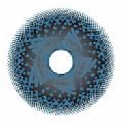 Circle Study No. 45 Poster