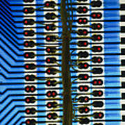 Circuit Used In Testing Microchip Functions Poster