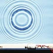 Circular Waves Poster
