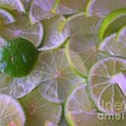 Citrons Verts - Green Lemon - Ile De La Reunion Poster