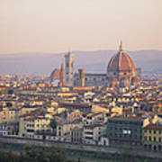 Cityscape, Florence, Italy Poster