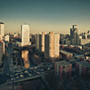 Cityscape Of Beijing, China Poster by Yiu Yu Hoi