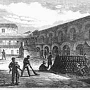 Civil War: New York Fort Poster by Granger