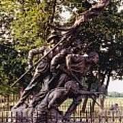 Civil War Soldiers Monument Poster