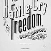 Civil War: Songsheet, 1861 Poster