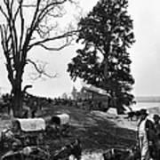 Civil War: Supply Base, 1864 Poster