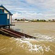 Clacton Lifeboat House Poster