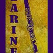 Clarinet Poster