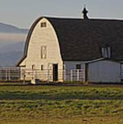 Classic Barn Near Grants Pass Poster