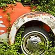 Classic Car Forgotten Poster