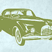 Classic Car Poster by Naxart Studio