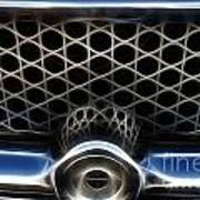 Classic Chrome Car Grill Poster
