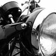 Classic Douglas Headlight Poster