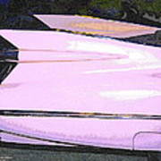 Classic Tails - Pink 1959 Cadillac Poster