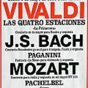 Classical Concert Poster Poster