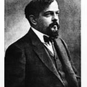 Claude Debussy, French Composer Poster by Photo Researchers