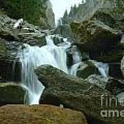 Clear Creek Falls Poster