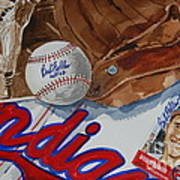 Cleveland Legend Bob Feller Poster